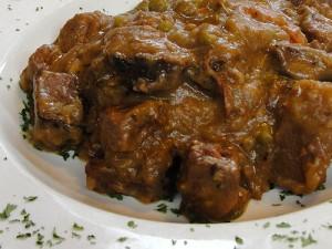 Delish Beef Stew at DesiRecipes.com