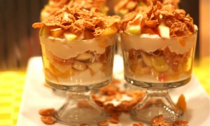 Quick Fruit Dessert at DesiRecipes.com