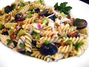Chicken And Pasta Salad at DesiRecipes.com