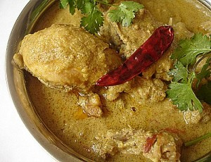 Chicken Korma With White Sauce