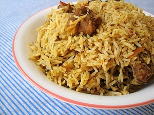 Mutton Pulao at DesiRecipes.com