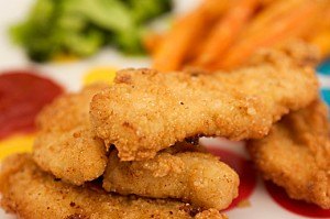Chicken Fingers at DesiRecipes.com