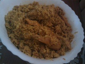Fish Pulao at DesiRecipes.com
