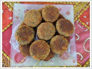 Bhori Cutlets at DesiRecipes.com