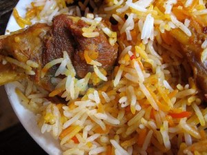 Boti Masala Biryani at DesiRecipes.com