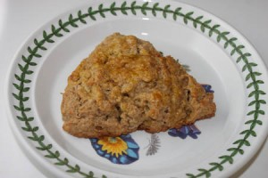 Cinnamon Raisin Scones at DesiRecipes.com