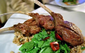 Smoked Lamb Chops