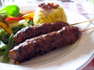 Kufta Kebabs at DesiRecipes.com