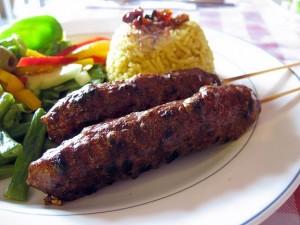 Kufta Kebabs at DesiRecipes.com