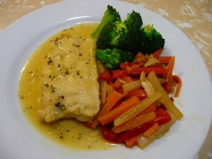 Fish In Herb Sauce at DesiRecipes.com