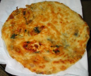 Stuffed Chicken Parathas at DesiRecipes.com