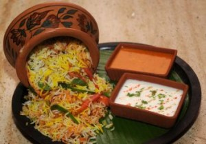 Handi Biryani at DesiRecipes.com