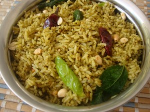 Lemon And Chili Rice at DesiRecipes.com