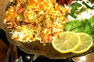 Hyderabadi Biryani at DesiRecipes.com