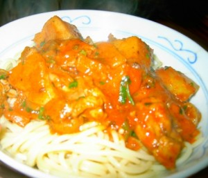 Chicken Paprikash at DesiRecipes.com