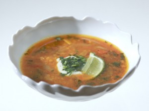 Lentil Soup With Herbs And Lemon