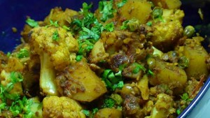 Gobhi Aloo at DesiRecipes.com