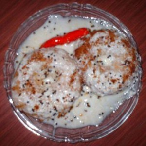 Dhai Baray at DesiRecipes.com