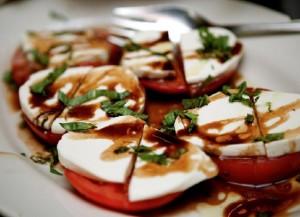 Tomato Mozzarella Mousse