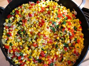 Creamy Corn With Mixed Vegetables at DesiRecipes.com