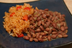 Easy Beans at DesiRecipes.com