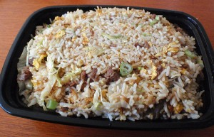 Beef Fried Rice at DesiRecipes.com