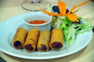 Refreshing Spring Rolls at DesiRecipes.com