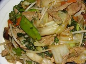 Beef Chop Suey at DesiRecipes.com