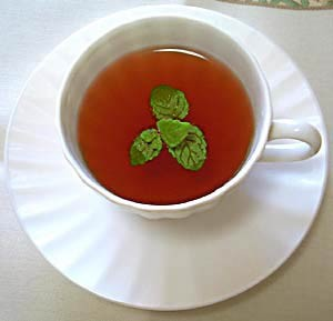 Mint Tea at DesiRecipes.com