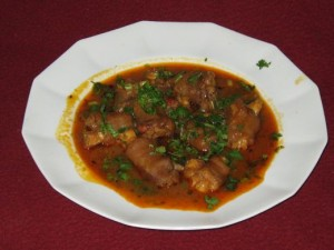 Spicy Trotter Goat Feet