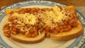 Toasted Baked Beans at DesiRecipes.com