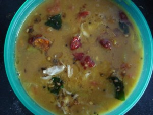 Khatti Masoor Ki Daal at DesiRecipes.com