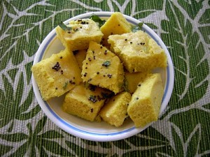 Dhokla at DesiRecipes.com