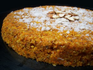 Sponge Fruit Cake at DesiRecipes.com