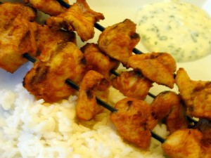 Cheese Chicken Kabab at DesiRecipes.com