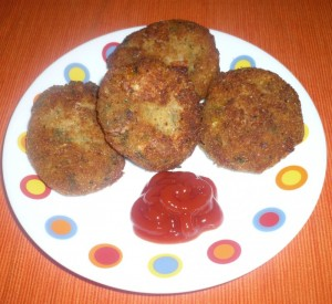Cottage Cheese Cutlets at DesiRecipes.com