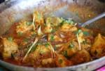 Easy Chicken Karahi at DesiRecipes.com