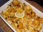 Easy Kofta Biryani at DesiRecipes.com