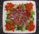 Mixed Vegetable Salad at DesiRecipes.com
