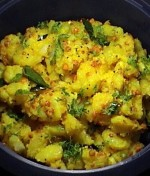 AALOO KA BHURTA  				at DesiRecipes.com