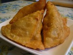 Samosas at DesiRecipes.com