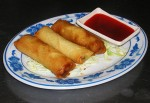 Spring Rolls at DesiRecipes.com